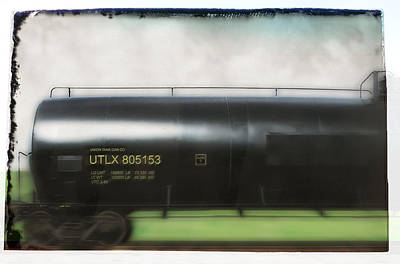 Photograph - Tank Car by Mark Holcomb