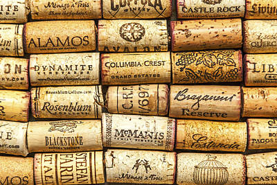 Up Up And Away - 5649- Wine Corks -7 by David Lange