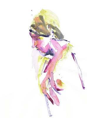Sexy Nude Mixed Media - Rcnpaintings.com by Chris N Rohrbach