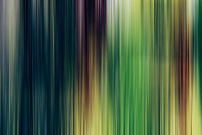 Abstract Movement Digital Art - Abstract Background by Les Cunliffe