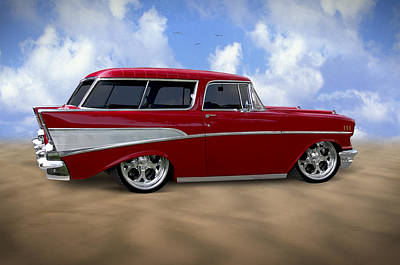 Transportation Royalty-Free and Rights-Managed Images - 57 Belair Nomad by Mike McGlothlen