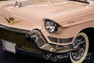 Photograph - 57 Cadillac Series 62 Convertible by Steven Parker