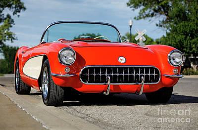 Photograph - '57 Chevrolet Corvette by Dennis Hedberg