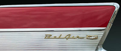 Photograph - 57 Chevy Bel Air by Mark Guinn