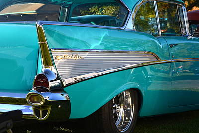 Photograph - 57 Chevy In Grey by Dean Ferreira