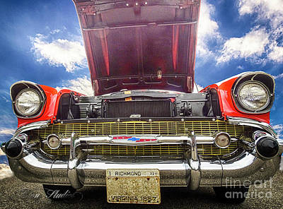 Photograph - 57 Chevy by Melissa Messick