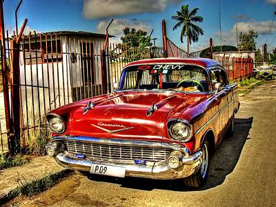 Photograph - 57 Chevy  by Michael Damiani