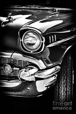 57 Chevy Art Print by Tim Gainey