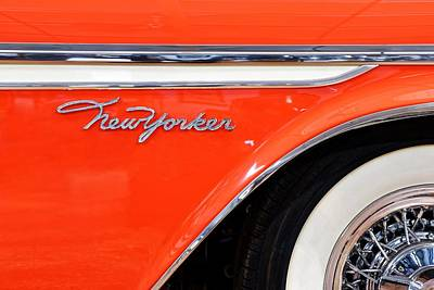 Photograph - '57 Chrysler New Yorker  by KJ Swan