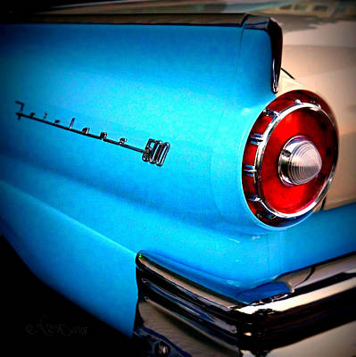Photograph - 57 Ford Fairlane  by Nick Kloepping