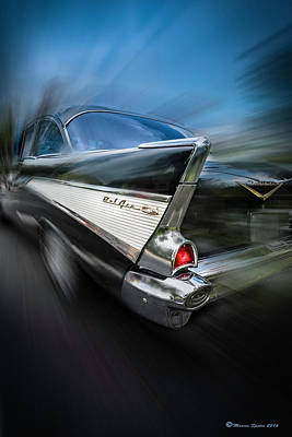 Belair Photograph - 57' Go Power by Marvin Spates