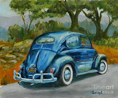 Painting - 57 Vee Dub by William Reed