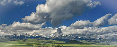 Photograph - #5773 - Southwest Montana by Heidi Osgood-Metcalf