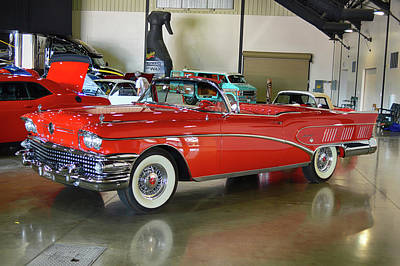 Photograph - 58 Buick Limited by Bill Dutting