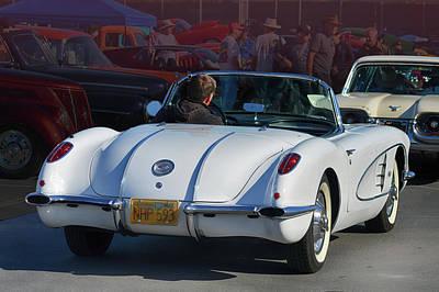 Photograph - 58 Classic Corvette by Bill Dutting
