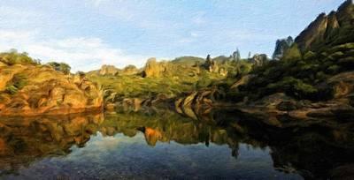 Autumn Painting - Landscape Definition Nature by Margaret J Rocha
