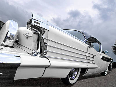 Photograph - 58 Oldsmobile Rocket 88 by Gill Billington