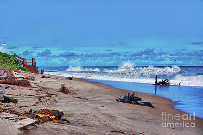 Photograph - 58- Sapphire Surf by Joseph Keane