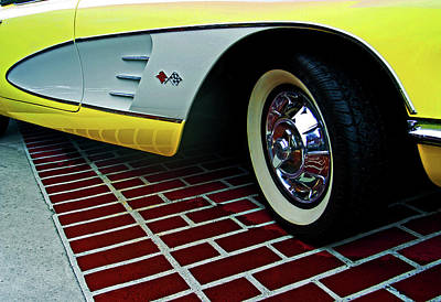 Photograph - 58 Vette by Bill Jonscher