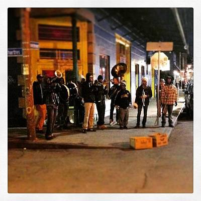 New Orleans Wall Art - Photograph - Brass Band  by Jeffrey Domke