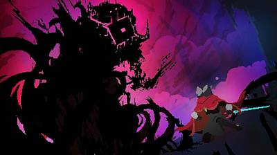 58333 Hyper Light Drifter Art Print