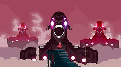58334 Hyper Light Drifter Art Print