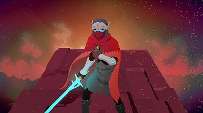 58336 Hyper Light Drifter Art Print