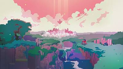 58340 Hyper Light Drifter Art Print