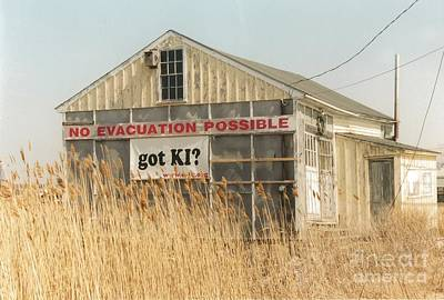 #585 22 Plum Island Marsh Got Ki No Evacuation Possible Landmark Original by Robin Lee Mccarthy Photography