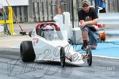 Wall Art - Photograph - 3895 05-29-16 Esta Safety Park Drag Racing by Vicki Hopper