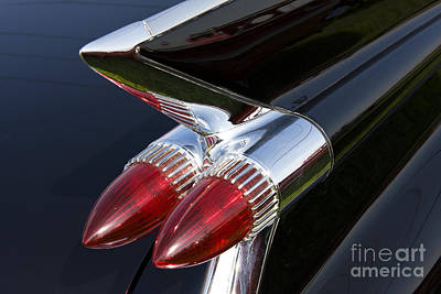 Antique Automobiles Photograph - '59 Cadillac by Dennis Hedberg
