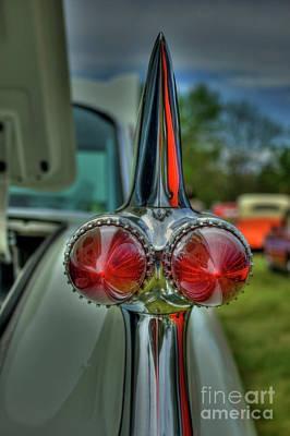 Photograph - 59' Cadillac  by Tony Baca