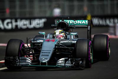 Sauber Photograph - Formula 1 Monaco Grand Prix 2016 by Srdjan Petrovic