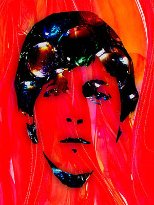 Musician Art Mixed Media - Paul Mccartney Collection by Marvin Blaine