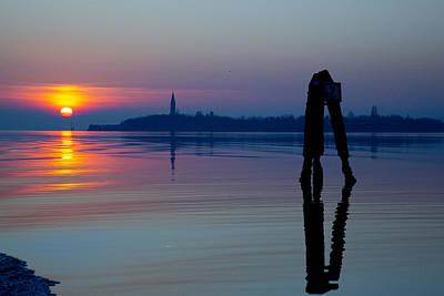 Photograph - Poveglia - Venice - Italy  by Tony Hart-Wilden