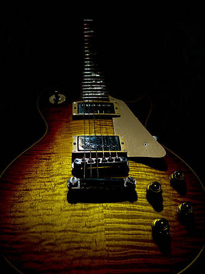 Digital Art - 59 Reissue Guitar Spotlight Series by Guitar Wacky