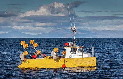 Icelandic Fish Photograph - 5907 Fengur Gk-133 by Photos by Ragnarsson