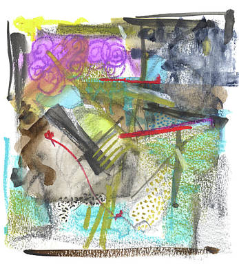 Love Mixed Media - Rcnpaintings.com by Chris N Rohrbach