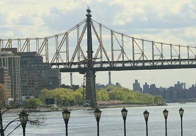 Photograph - 59th Street Bridge From The Fdr by Christopher Kirby