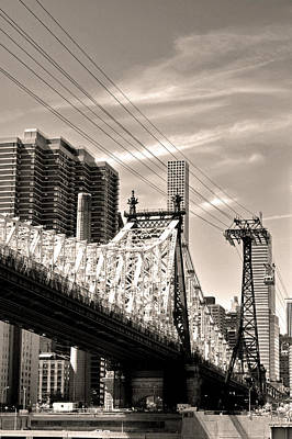 Photograph - 59th Street Bridge No. 4-1 by Sandy Taylor