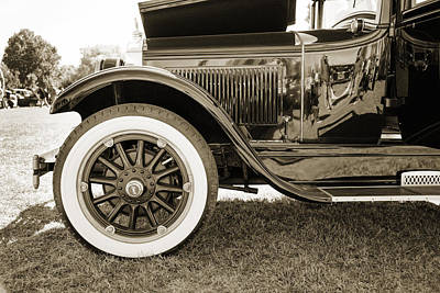 Photograph - 1924 Buick Duchess Antique Vintage Photograph Fine Art Prints 116 by M K  Miller