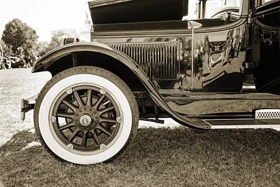 Photograph - 1924 Buick Duchess Antique Vintage Photograph Fine Art Prints 116 by M K Miller