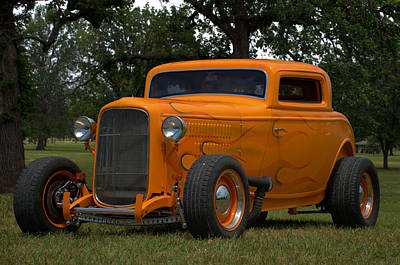 Photograph - 1932 Ford Coupe Hot Rod by Tim McCullough