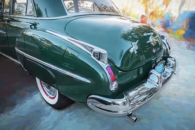 Photograph - 1950 Oldsmobile 88 Futurmatic Coupe   by Rich Franco