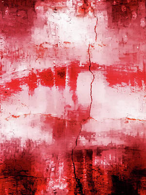 Steamy Photograph - Abstract Painting by Tom Gowanlock