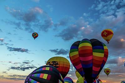 Photograph - Albuquerque Hot Air Balloon Fiesta 2016 by Gestalt Imagery