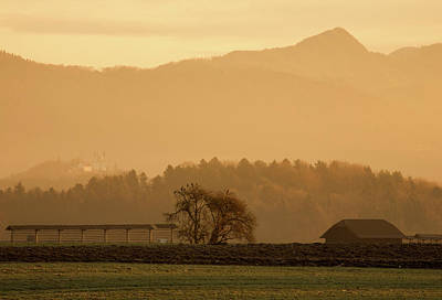 Photograph - Alpine Sunrise by Ian Middleton