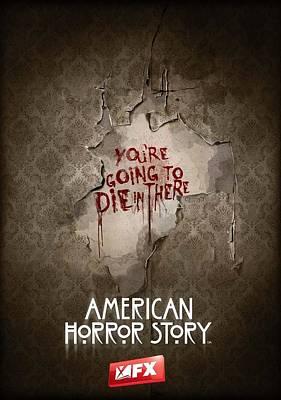 Horror Digital Art - American Horror Story 2011 by Fine Artist