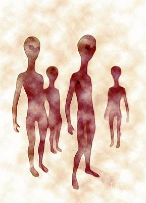 Science Fiction Royalty-Free and Rights-Managed Images - Ancient Aliens by Raphael Terra