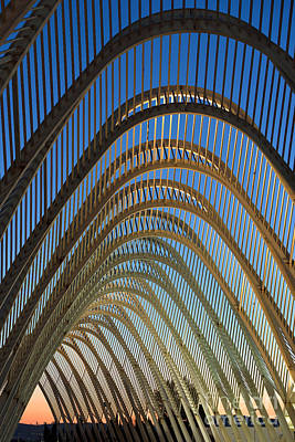 Arcade Photograph - Archway In Olympic Stadium In Athens by George Atsametakis